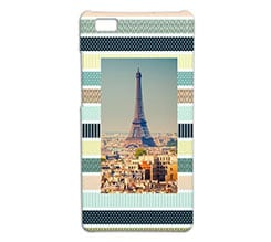 Cover p8 Lite 3D Colourful