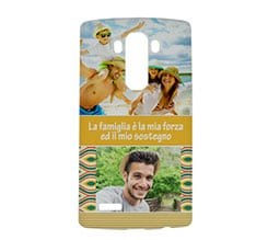 Cover Lg g4 3D Yellow collage