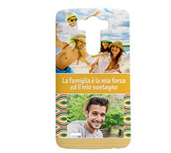 Cover Lg G3 3D Yellow vintage