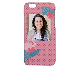 Cover iPhone 6 3D Fenicotteri in love