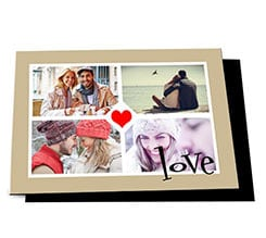 Cartolina magnetica Four for love