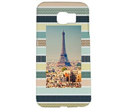 Cover Galaxy s6 3D Colourful