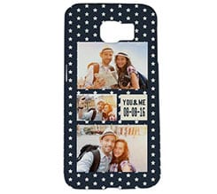 Cover Galaxy s6 3D Stelline bianche