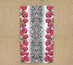 Telo mare 90x150 Fashion flowers