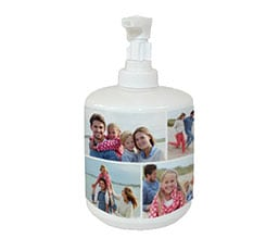 Dispenser sapone collage 7 riquadri