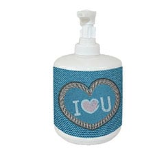 Dispenser sapone Love jeans