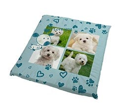 Cuscino per cani Sweet dog collage