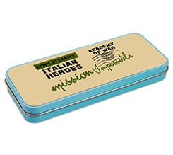 Portapenne in metallo Mission impossible
