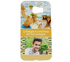 Cover Galaxy s6 3D Yellow collage