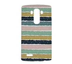 Cover Lg g4 3D Trame colorate