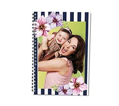 Agenda 8x13 Blue bands