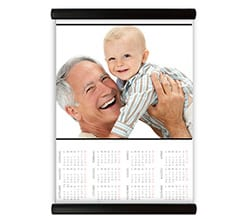 Calendario su Arazzo Basic white