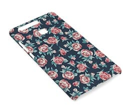 Cover Huawei P9 3D Rose texture