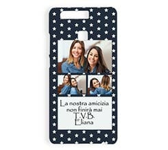 Cover Huawei P9 3D Stelline collage