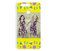 Cover Huawei P9 3D Fantasy yellow