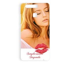 Cover Huawei P9 3D Kisses
