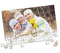 Puzzle A3 White Christmas