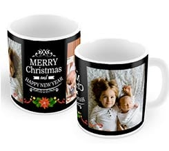 Tazza panoramica Merry Christmas