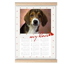 Calendario su Arazzo My Love