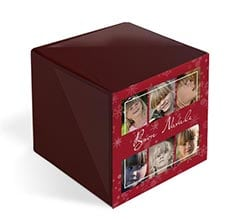 Foto Cubo Elite Red Christmas