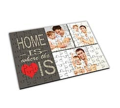 Puzzle Big in legno Home is here