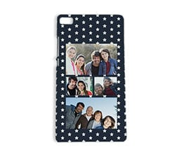 Cover Huawei P8 stampa 3D Stelle collage