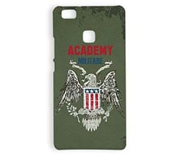 Cover 3D Huawei P9 Lite Academy militare