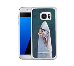 Cover Galaxy S7 in Silicone con Foto
