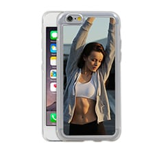 Cover iPhone 6 in Silicone Stampata