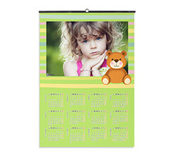 Calendario A3 pagina singola Green bands