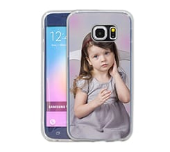 Cover con Foto in Silicone Galaxy S6 Edge