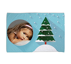 Coperta 100x150 Christmas tree