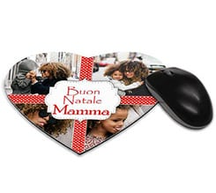 Tappetino mouse cuore 4 stars