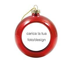 Pallina Natale Con Foto Digitale.Palline Di Natale Personalizzate Fotoregali Com