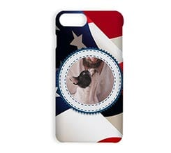 Stampa Cover iPhone 7 Plus 3D America