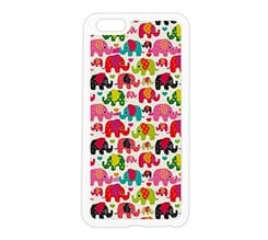 Cover in silicone iPhone 6 Plus Elefanti