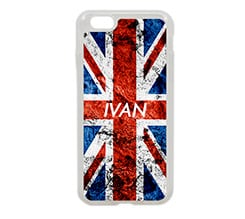 Cover iPhone 6 in silicone English style