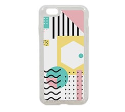 Cover iPhone 6 in silicone Modern