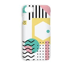 Cover iPhone 7 3D Modern abstract