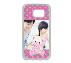 Cover Galaxy S7 in Silicone Sweet bear