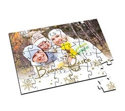 Puzzle in Legno Small White Christmas
