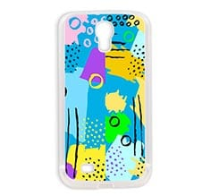Cover Galaxy S4 in silicone Modern