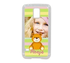 Cover Galaxy S5 in silicone Teddy