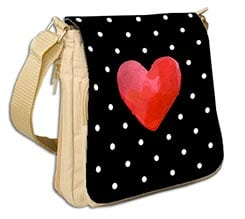 Borsa Destiny Dark heart