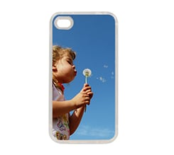 Cover Silicone iPhone 4-4S con Foto