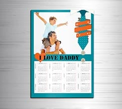 Calendario magnetico A3 Love Daddy
