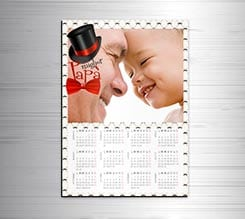 Calendario magnetico A3 Best Dad