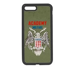 Cover in Silicone iPhone 7 Plus Accademia militare