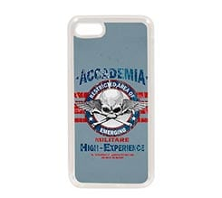 Cover in Silicone iPhone 7 Accademia