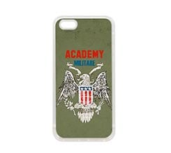 Cover in Silicone iPhone 5-5S Accademia militare
